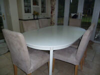 KITCHEN / DINING TABLE / WORK TABLE / DESK - extremely practical - BARGAIN £35