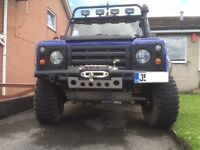 LAND ROVER 90 DEFENDER 200TDI GALVANISED CHASSIS