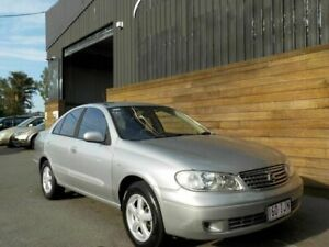 2005 Nissan Pulsar N16 MY2004 ST-L Silver 4 Speed Automatic Sedan Labrador Gold Coast City Preview