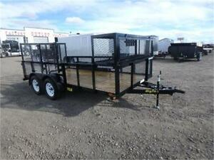 7 x 14 LANDSCAPER'S DREAM TRAILER BY BIG TEX -*TAX IN PRICE!*-