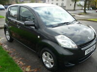 Daihatsu Sirion 1.3i 16V 90BHP SE **One Owner** (black) 2010