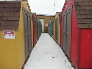 8x12 Storage Rental Available Immediately!