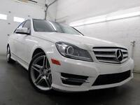 2013 Mercedes C 350 TOIT PANOR NAVIGATION CAMERA 4MATIC 72,000KM