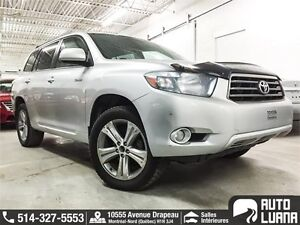 2010 Toyota Highlander Sport 7 PLACES/CUIRE/MAG/TOIT/TRES PROPRE