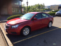 2011 Chevy Cruze - LOW KM - For Sale