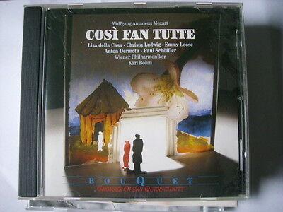 Cosi Fan Tutte, Wolfgang Amadeus Mozart, Bou Quet, CD