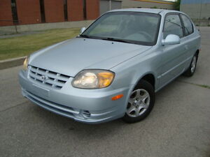 2003 HYUNDAI ACCENT GS HATCHBACK 110000 KMS''TAX INCLUDED''