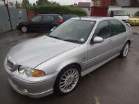 MG ZS 1.8 120~53/2003~4 DOOR SALOON~5 SPEED MANUAL~STUNNING SILVER~CLEAN CAR