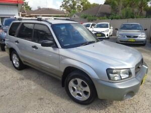 2004 Subaru Forester MY04 XS Silver 5 Speed Manual Wagon Sylvania Sutherland Area Preview