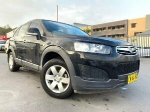 2014 Holden Captiva CG MY15 7 LS (FWD) Black 6 Speed Automatic Wagon Edgeworth Lake Macquarie Area Preview