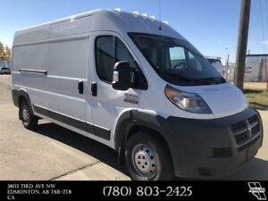 "2014 Ram ProMaster Cargo Van 159"" WB - High Roof - Insulated Hig"