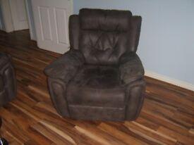 three piece recliner suite