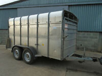 Hudson live stock trailer 12ft twin axle