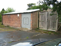 Premises to Let: Workshop (700 sq ft), Garage (200 sq ft) & Compound : Storage or Light Industrial