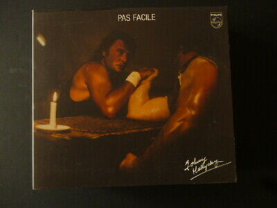 CD JOHNNY HALLYDAY - PAS FACILE - PHILIPS - TTB ETAT