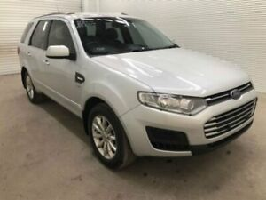 2015 Ford Territory SZ MK2 TX (4x4) Silver 6 Speed Automatic Wagon Bohle Townsville City Preview