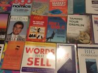 20 x Marketing, Management, Consultant & Business Books