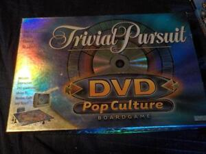 Trivial Pursuit Pop Culture Game with DVD New in Box