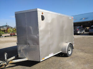 2015 Legend Thunder 6x11 Enclosed Cargo Trailer With Ramp