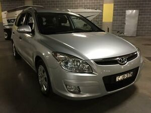 2012 Hyundai i30 FD SX Silver Manual Wagon Campbelltown Campbelltown Area Preview