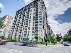 Downtown Montreal ..2 BDR with garage corner unit for rent.