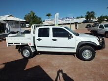 2012 Isuzu D-MAX MY11 SX Alpine White 5 Speed Manual Utility Rosslea Townsville City Preview