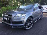 "Audi Q7 3.0TD (245ps) 4X4 Tiptronic Quattro S Line 2011/11 SLATE GREY,22""ALLOYS"