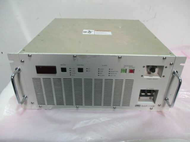 Daihen SGP-15B, Analog RF Microwave Power Generator, 2450MHz, 1500W, 416908