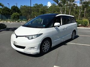 2007 Toyota Estima GSR50 Aeras S White 5 Speed Automatic Wagon Arundel Gold Coast City Preview