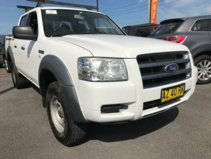 2008 Ford Ranger PJ XL White Automatic Utility