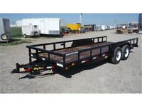 7 X 20 *HEAVY DUTY* Equipment Trailer - OUT THE DOOR PRICES!!