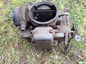 AMC Rambler carburetors and choke assembly