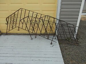 Wrought Iron fencing and railings  used