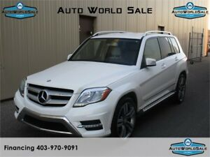 2013 MERCEDES BENZ GLK350-4MATIC |AWD-WHITE