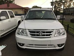 2015 Tata Xenon MY15 (4x4) White 5 Speed Manual Cab Chassis Sandgate Newcastle Area Preview