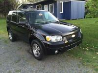 Ford Escape 2005, frein d'urgence