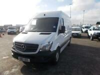 Mercedes-Benz Sprinter 313 Cdi DIESEL MANUAL WHITE (2015)