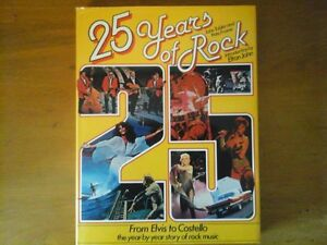 25 Years of Rock (Music) Book