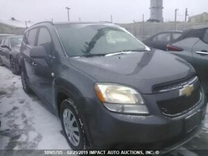 2012 to 2015 Chevrolet Orlando parts for sale