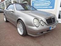 Mercedes-Benz CLK230 Kompressor 2.3 auto Convertible Merc Sh to 181k