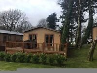 LUXURY LODGE FOR SALE SNOWDONIA-NORTH WALES- 3 BEDROOM SLEEPS 8 WITH SITE FEES AND DECKING INCLUDED