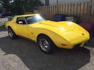1975 corvette stingray for sale