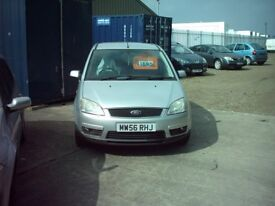 ford cmax 1.6 petrol , very clean £1695 silver