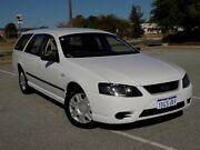 2009 Ford Falcon BF Mk III XT White 4 Speed Sports Automatic Wagon Maddington Gosnells Area Preview