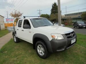 2009 Mazda BT-50 UNY0E4 DX 4x2 White 5 Speed Automatic Utility Moorabbin Kingston Area Preview