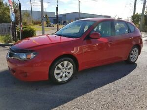 2009 Subaru Impreza 2.5i, HATCHBACK, AWD, MANUAL ONLY 133 KMS
