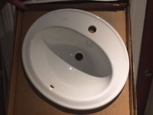 NEW Kohler Top Mount 1 hole bath sink>  $40.00