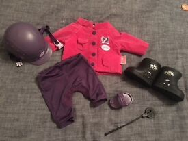 Baby born deluxe riding outfit as new!