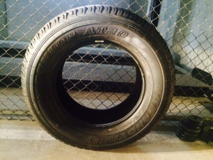 Brand new Dunlop AT20 tyre 265/65 R17 South Melbourne Port Phillip Preview