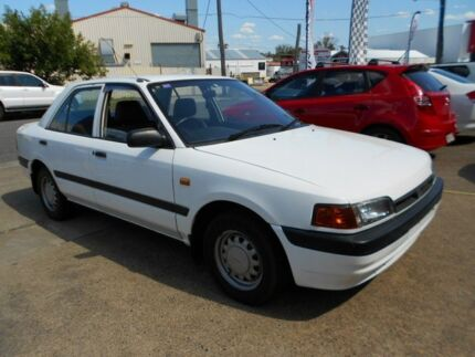 1994 Mazda 323  White 4 Speed Automatic Sedan Yeerongpilly Brisbane South West Preview